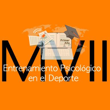 Módulo VII - Entrenamiento Psicológico en el Deporte