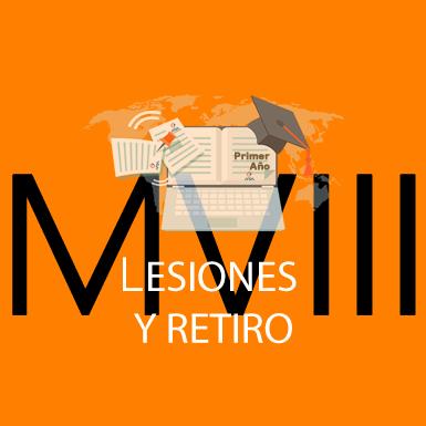 Módulo VIII - Retiro y Lesiones
