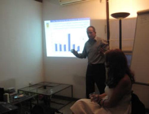 Dr. Peter Terry dos conferencias en APDA