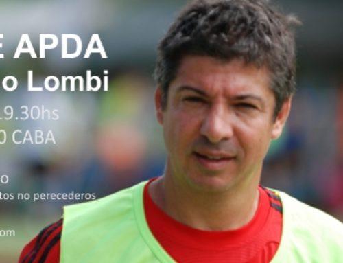 Noche APDA – Pablo Lombi – 20 de mayo 2015
