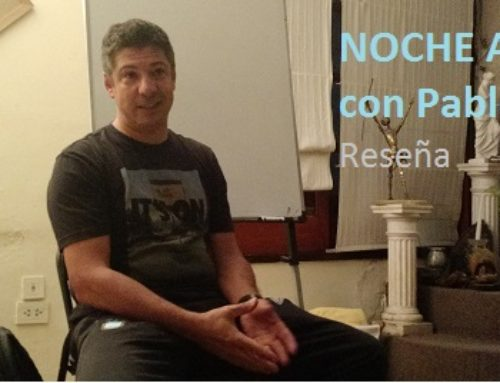Reseña de la Noche APDA con Pablo Lombi