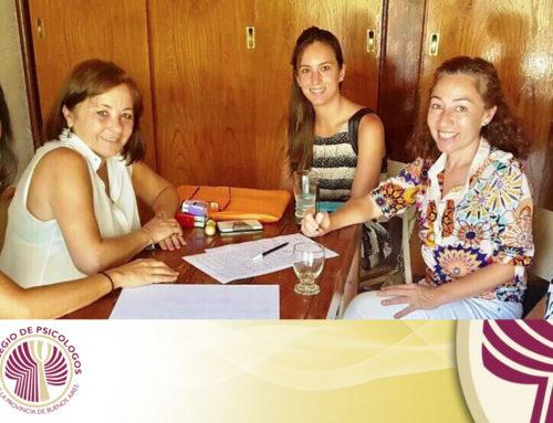 Convenio Marco con el Distrito XIV del Colegio de Psicólogos de la Pcia. de Bs. As.
