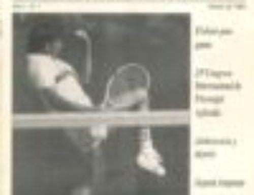 Revista Psicodeportes: primera edición 1995