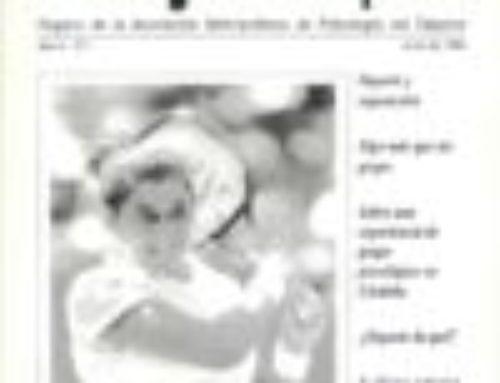 Revista Psicodeportes: edición 2 – año 1996