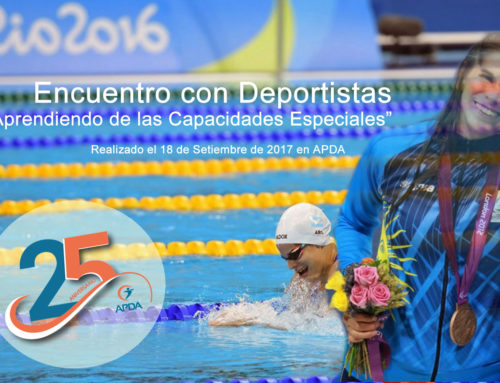 Noche APDA Realizada: Deporte y Discapacidad