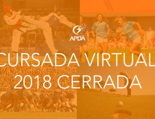 Especialización en Psicología del Deporte. Modalidad VIRTUAL. Inscripción 2018 CERRADA
