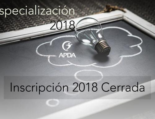 Especialización en Psicología del Deporte, Modalidad PRESENCIAL, INSCRIPCIÓN  2018 CERRADA