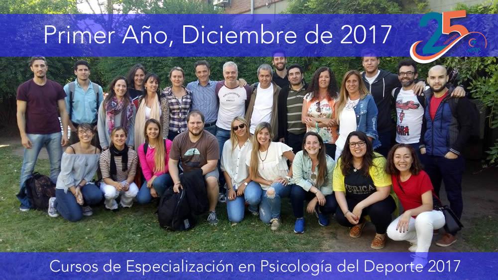 Cursos de Especialización en Psicología del Deporte 2017