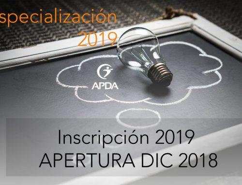 FORMACIÓN EN PSICOLOGÍA DEL DEPORTE 2019