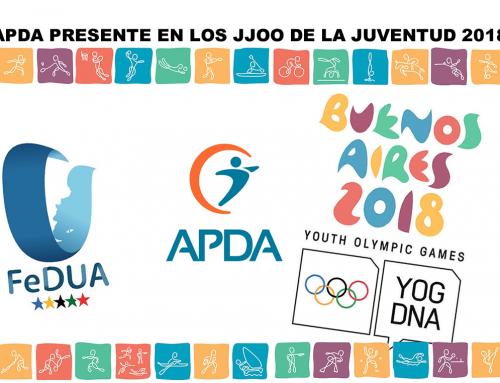 APDA en los Juegos Olímpicos de la Juventud 2018.