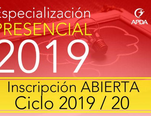 Especialización en Psicología del Deporte, Modalidad PRESENCIAL, Inscripción ABIERTA, Ciclo 2019 / 20