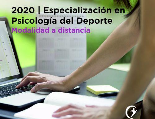 Especialización en Psicología del Deporte. MODALIDAD A DISTANCIA. Ciclo 2020/21