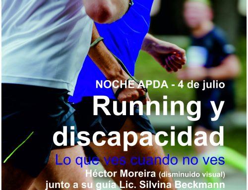 Noche APDA: running y discapacidad