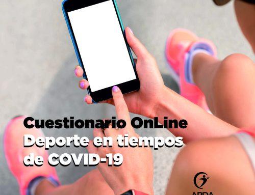 Encuesta Online: Deporte en tiempos de COVID-19