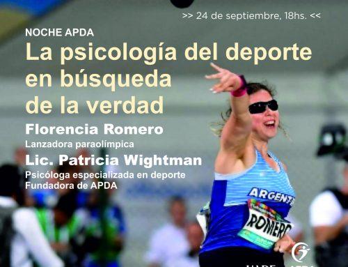 NOCHE APDA: la psicología del deporte en búsqueda de la verdad