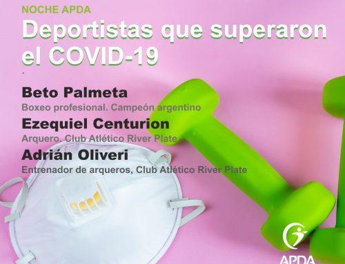 NOCHE APDA: Deportistas y COVID19. 17Dic 18hs