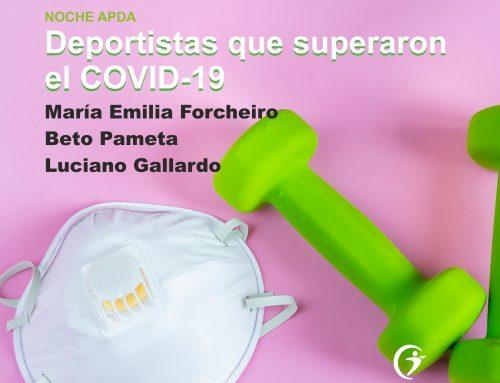 NOCHE APDA: Deportistas y COVID19