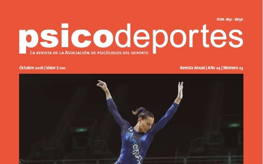 Revista Psicodeportes 2016